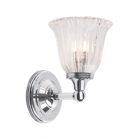 Sieninis vonios šviestuvas Austen1 Chrome