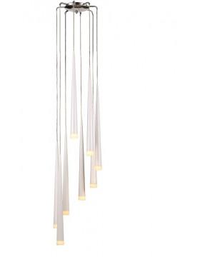 Pakabinamas šviestuvas STYLO 8 WHITE