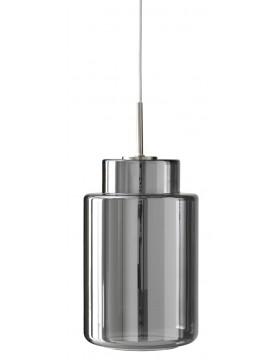 Šviestuvas ZAPPA 35 PENDANT GLASS/SILVER