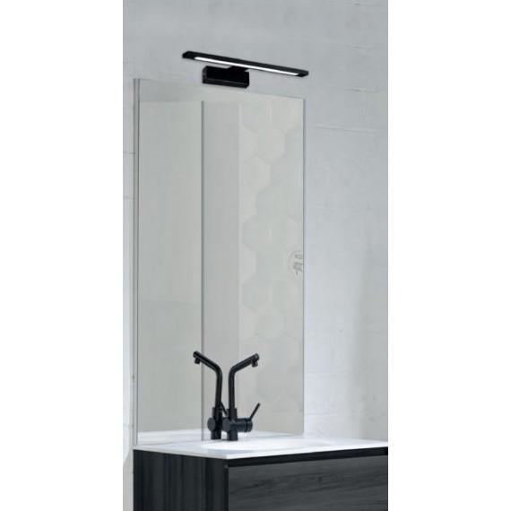 Sieninis šviestuvas Menorca juodas