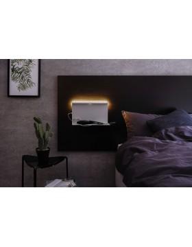 Sieninis šviestuvas Jarina su lentynėle