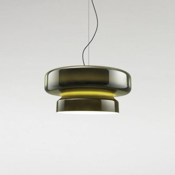 Pakabinamas šviestuvas Bohemia 84 žalias
