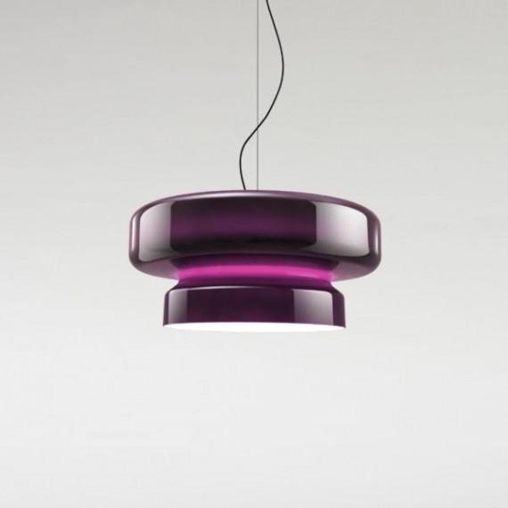 Pakabinamas šviestuvas Bohemia 84 violetinis
