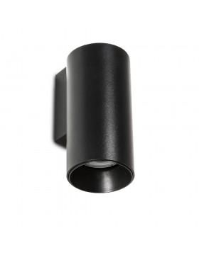 Sieninis šviestuvas STAN 1L juodas