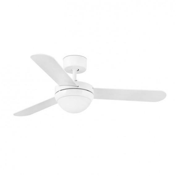 Šviestuvas - ventiliatorius FEROE White