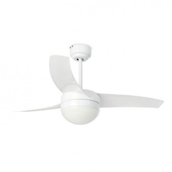 Šviestuvas - ventiliatorius EASY White
