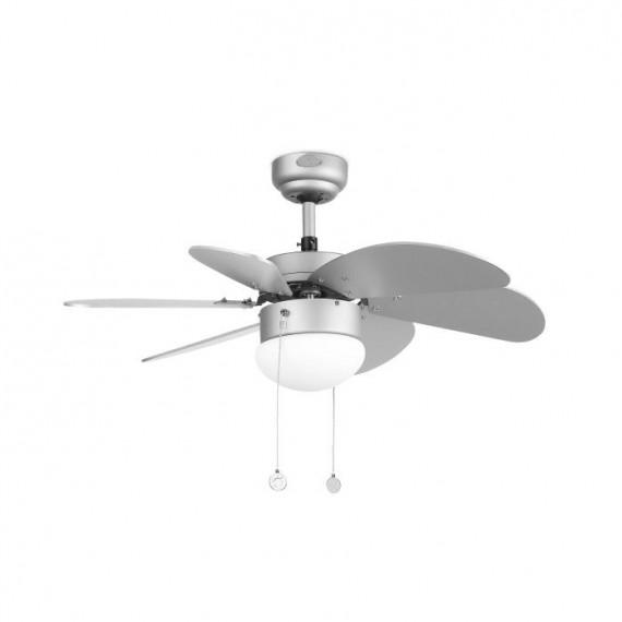 Šviestuvas - ventiliatorius PALAO Grey