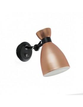 Sieninis šviestuvas Retro Copper