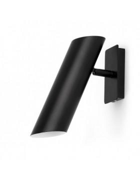 Sieninis šviestuvas Link Black