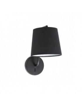 Sieninis šviestuvas Berni1 Black