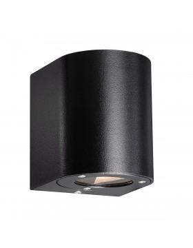 Sieninis šviestuvas CANTO black