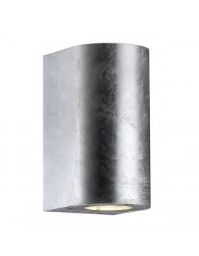 Sieninis šviestuvas CANTO maxi 2 galvanized steel
