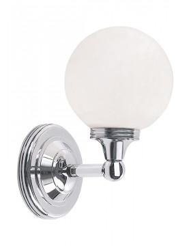 Sieninis vonios šviestuvas Austen4 Chrome