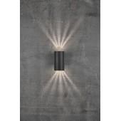 Sieninis lauko šviestuvas ABSOL juodas