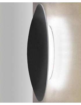 Sieninis/lubinis šviestuvas SLOT 25 juodas