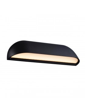sieninis šviestuvas front 26 black