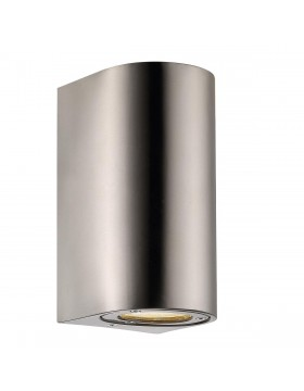 Sieninis šviestuvas CANTO maxi 2 stainless steel